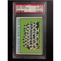 1964 TOPPS #496 WHITE SOX TEAM (EX-MT 6) PSA