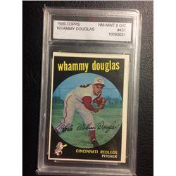 1959 TOPPS #431 WHAMMY DOUGLAS (NM-MINT 8 O/C) FGS