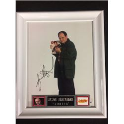 "JASON ALEXANDER AUTOGRAPHED 10"" X 12"" FRAMED PHOTO W/ COA"