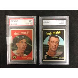 HIGH GRADED BASEBALL CARDS LOT
