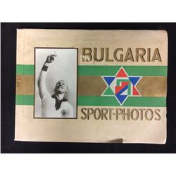 VINTAGE BULGARIA SPORT-PHOTOS & TRADING CARDS