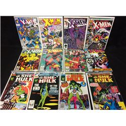 X-MEN & SHE-HULK COMIC BOOK LOT (MARVEL COMICS)