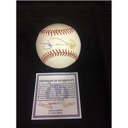 Duane Ward Autographed MLB Official Rawlings MLB Baseball