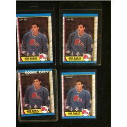 JOE SAKIC ROOKIE CARD LOT