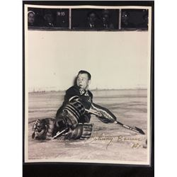 """JOHNNY BOWER AUTOGRAPHED 8"""" X 10"""" PHOTO"""