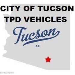CITY OF TUCSON - TPD VEHICLES
