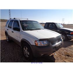 2001 - FORD ESCAPE