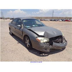 2002 - FORD TAURUS // DISMANTLE TITLE