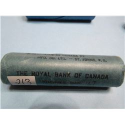 1967 TOP DATE UNSEARCHED NICKEL ROLL