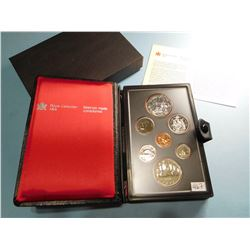 1980 CANADA COIN SET - 7 COINS Canadian Proof Double Dollar Set