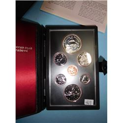 1979 CANADA COIN SET - 7 COINS  Canadian Proof Double Dollar Set