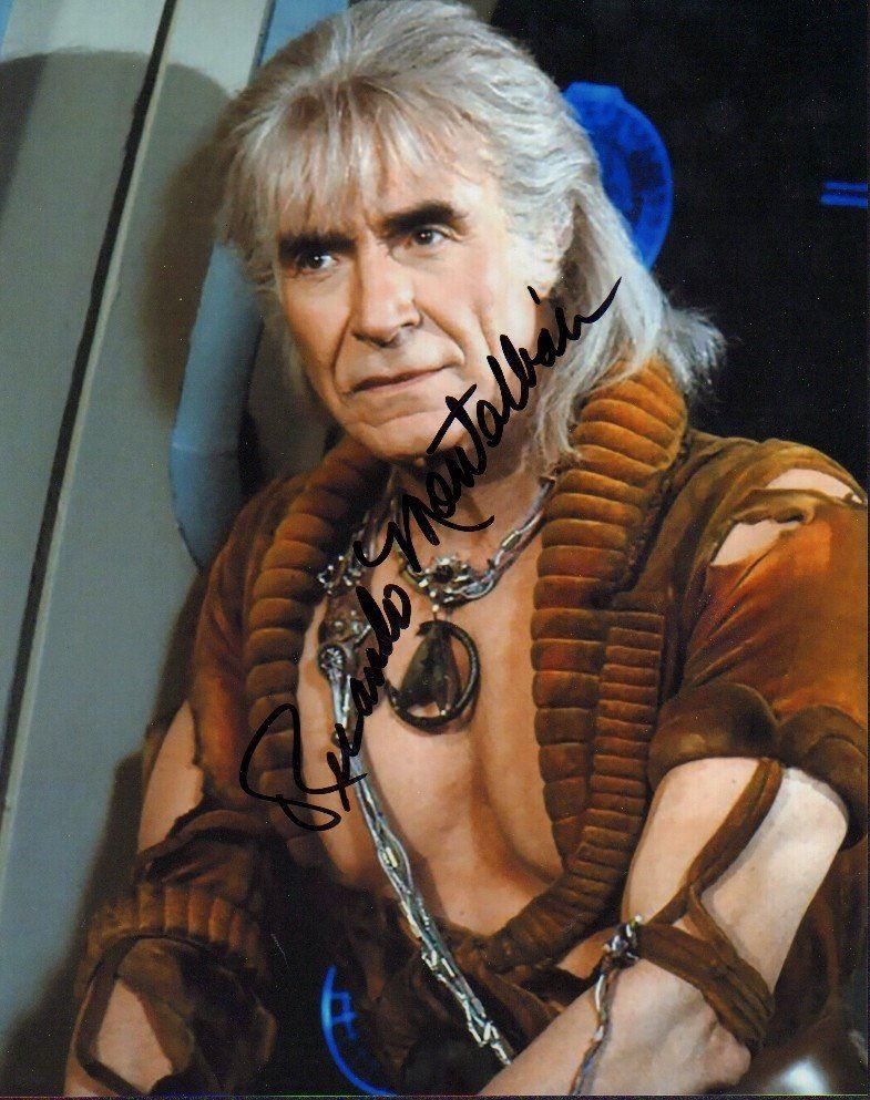 Ricardo Montalban as Khan in Star Trek The Wrath of Khan Movie Autographed Photo