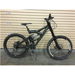 GREEN GIANT FAITH FULL SUSPENSION DOWNHILL MOUNTAIN BIKE WITH FRONT AND REAR HYDRAULIC DISK BRAKES
