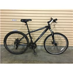 GREY IRONHORSE ESTATE FRONT SUSPENSION MOUNTAIN BIKE WITH FRONT AND REAR DISK BRAKES