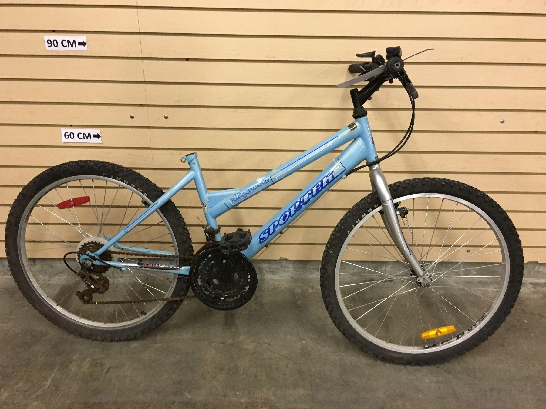 Blue Sportek Ridgerunner Kid S Mountain Bike I flip flopped silpoly & silnylon. live auction world