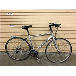 GREY AND PINK NORCO FBR HYBRID ROAD BIKE, MISSING CHAIN