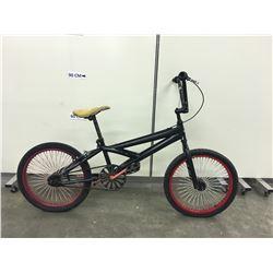 BLACK HUFFY BMX BIKE