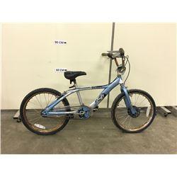 BLUE HUFFY BMX BIKE