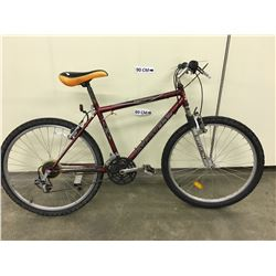 RED INFINITY TELLURIDE FRONT SUSPENSION MOUNTAIN BIKE