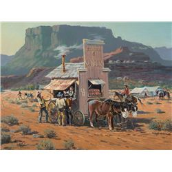 Mitchell, Lloyd - The Saloon Wagon