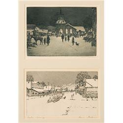 Kleiber, Hans - Christmas Eve; Dayton, Wyoming