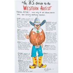 Shields, Bonnie - Sold as a Set of Two - B.S. Guide to Western Artist