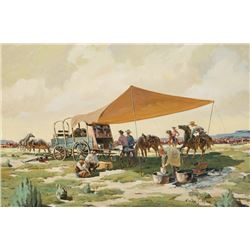 Graham, Walter - Dry Land Chuckwagon