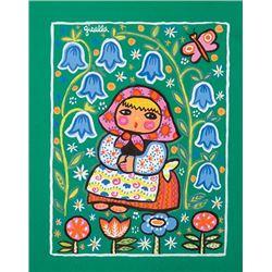 Loeffler, Gisella - Peasant Girl