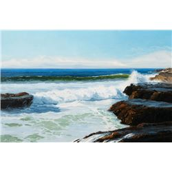 Lau, Ruth M. - Rocks At Monterey