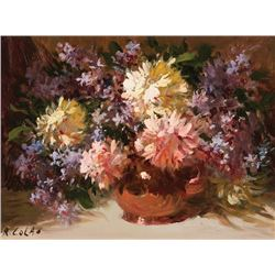Colao, Rudolph - Flowers in Copper Vase