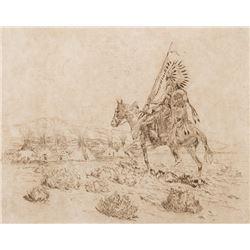 Borein, Edward - Painted Teepee
