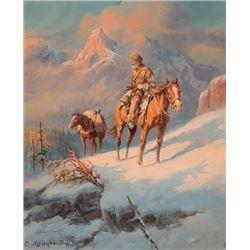 Wieghorst, Olaf - Rocky Mountain Trapper