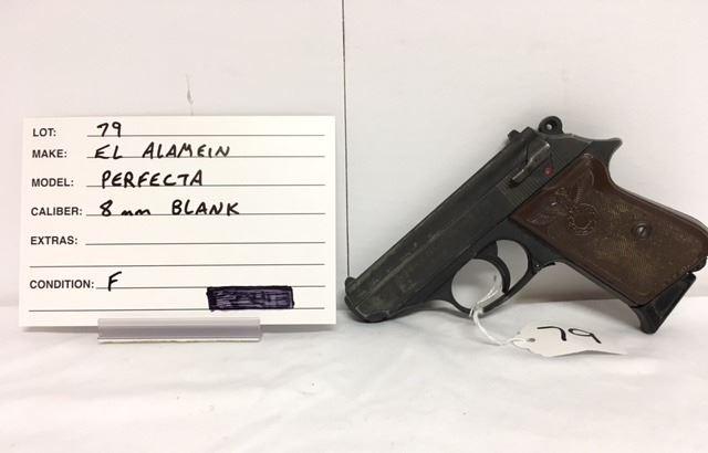 EL ALAMEIN, PERFECTA, 8 MM BLANK