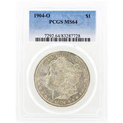 1904-O MS64 Morgan Silver Dollar
