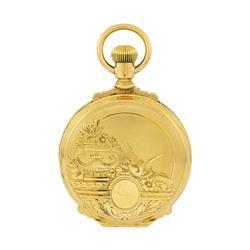 Vintage Waltham Pocket Watch - 14KT Yellow Gold