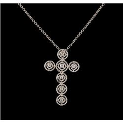 0.28 ctw Diamond Pendant With Chain