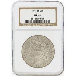 1883-O MS63 NGC Morgan Silver Dollar