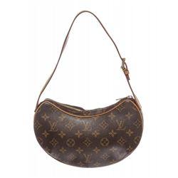 Louis Vuitton Monogram Canvas Leather Croissant PM Shoulder Bag