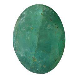 3.63 ctw Oval Emerald Parcel
