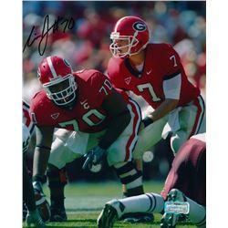 Nick Jones Signed Georgia 8x10 Photo (Radtke COA)