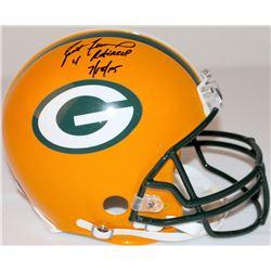 "Brett Favre Signed LE Packers Full-Size Authentic Pro-Line Helmet Inscribed ""4 Retired""  ""7/18/15"" #"