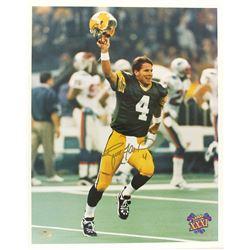 Brett Favre Signed Packers 16x20 Photo (Radtke Hologram)