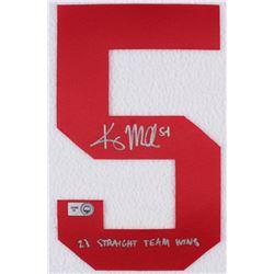 """Kris Medlen Signed Braves Jersey Number #5 Inscribed """"23 Straight Team Wins"""" (MLB Hologram)"""