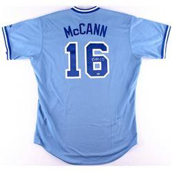 Brian McCann Signed Braves Jersey (Radtke COA)