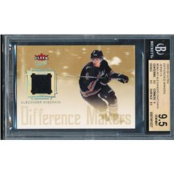Alexander Ovechkin 2005-06 Ultra Difference Makers Jerseys #DMJAO RC (BGS 9.5)