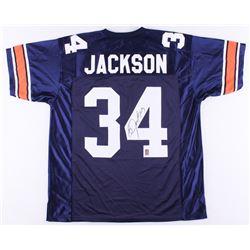 Bo Jackson Signed Auburn Jersey (Jackson Hologram)
