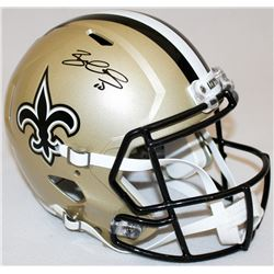 Brandin Cooks Signed Saints Speed Full Size Helmet (JSA COA)