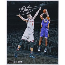 """Kobe Bryant Signed Lakers """"Last Game at Madison Square Garden"""" 16x20 Photo Limited Edition #1/24 (Pa"""