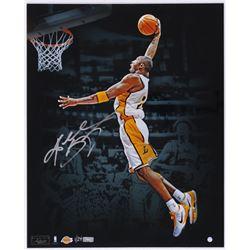 Kobe Bryant Signed Lakers 16x20 Photo Limited Edition #1/24 (Panini COA  Steiner COA)