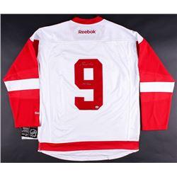 """Gordie Howe Signed Red Wings Jersey Inscribed """"Mr. Hockey"""" (LOJO COA)"""